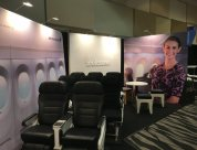 Experiential trade show display for Air New Zealand at Paice