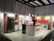 Experential Marketing display built by Peek Exhibition for Haier new product launch 2013
