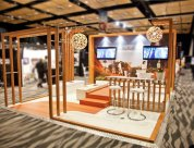 Tourism Australia stand designed by Peek Exhibition for Paice 2012