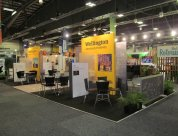 Wellington region stand MEETINGS 2014 by Peek Exhibition