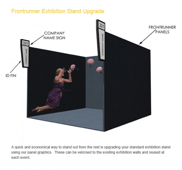 Exhibition Stand Options : Modular stands shell scheme with upgrade options peek exhibition
