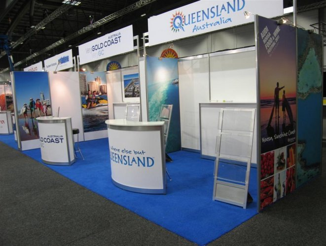 Exhibition Stand Builders Brisbane : Exhibition custom design trade display experiential