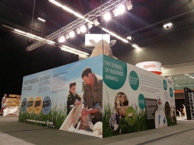 Exhibition Stand Nz : Exhibition creative signage graphics displays peek