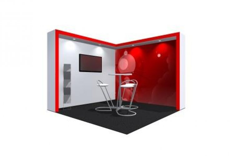 Exhibition Shell Hire : Exhibition stand hire trade show stands for peek